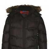 czarna kurtka Top Secret pikowana - zima 2011/2012