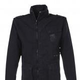 czarna kurtka Top Secret ze stójką - moda 2011