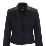 czarna marynarka Top Secret - moda na zimę 2013/14