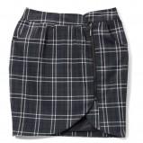 czarna spódnica Mohito w kratkę - jesień/zima 2010/2011