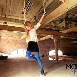 czarna spódnica Moodo mini - kolekcja jesienna