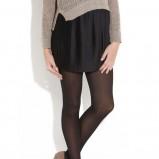 czarna spódnica New Look mini - zima 2011/2012