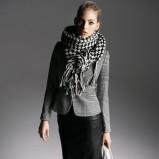 czarna spódnica Reserved skórzana - moda 2013/14