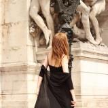 czarna sukienka COL CLAUDINE PL