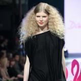 czarna sukienka Dawid Woliński - z kolekcji wiosna-lato 2011