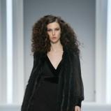 czarna sukienka F&F maxi - pokaz jesień/zima 2013