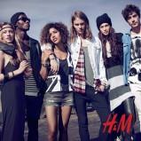 czarna sukienka H&M maxi - kolekcja festiwalowa