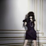 czarna sukienka H&M - moda jesień/zima 2010