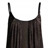 czarna sukienka H&M z cekinami - jesień/zima 2011/2012