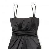 czarna sukienka House - jesień/zima 2011/2012