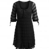 czarna sukienka Kappahl - jesień-zima 2010/2011