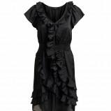 czarna sukienka Kappahl - jesień/zima