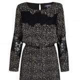 czarna sukienka Marks & Spencer - jesienne trendy 2013