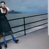 czarna sukienka Miu miu - jesień 2013