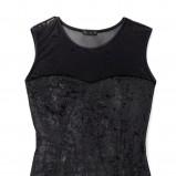 czarna sukienka Mohito - jesień/zima 2010/2011