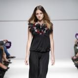 czarna sukienka Natalia Jaroszewska - wiosna/lato 2012