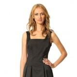 czarna sukienka Orsay - jesień i zima 2013/14