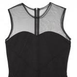 czarna sukienka Reserved - sylwester 2012/2013