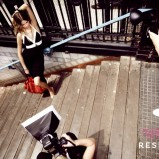 czarna sukienka Reserved - wiosna/lato 2011