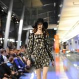 czarna sukienka Simple we wzorki - jesień/zima 2011/2012