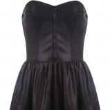 czarna sukienka Tally Weijl - jesień 2011
