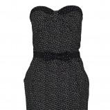 czarna sukienka Troll - jesień 2012