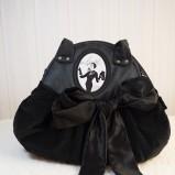 czarna torebka Ela Biryło - moda 2011