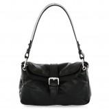 czarna torebka Prima Moda - trendy zimowe