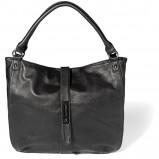 czarna torebka Reserved - moda wiosna/lato