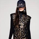 czarna tunika H&M z cekinami - jesień-zima 2012/2013