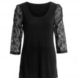 czarna tunika Kappahl - moda jesień/zima 2010