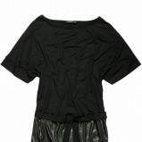 czarna tunika Tatuum - moda zimowa