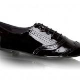 czarne adidasy Vagabond błyszczące - jesień 2011