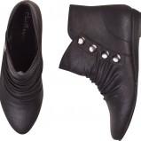 czarne botki Cropp - moda jesienna