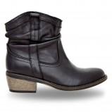 czarne botki Wojas - obuwie na wiosnę 2013