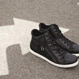 czarne buty sportowe Reserved - jesień 2014