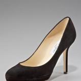 czarne czółenka Jimmy Choo - moda 2012