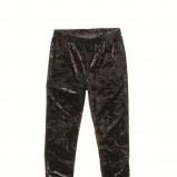 czarne legginsy C&A błyszczące - jesień/zima 2011/2012