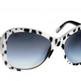 czarne okulary przeciwsłoneczne Dolce&Gabbana kocie - z kolekcji wiosna-lato 2012