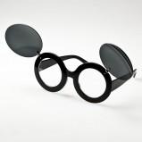 czarne okulary przeciwsłoneczne - wiosna/lato 2012