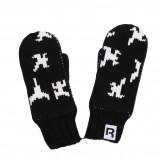 czarne rękawiczki Reebok