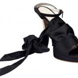 czarne sandały BGN - wiosna-lato 2011