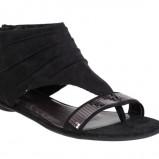 czarne sandały CCC - letnia kolekcja