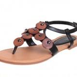 czarne sandały CCC - trendy wiosna-lato