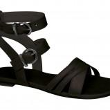 Czarne sandały Deichmann, cena
