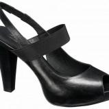 czarne sandały Deichmann - moda wiosna/lato