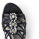 czarne sandały Tamaris - moda 2011