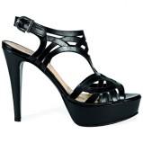 czarne sandały Venezia - wiosna-lato 2011