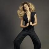 czarne spodnie Caterina z wysokim stanem - jesień/zima 2011/2012