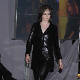 czarne spodnie Gosia Baczyńska - moda 2011